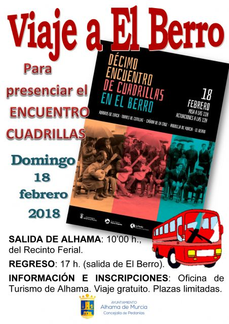 FREE BUS to El Berro