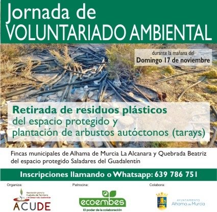 JORNADA DE VOLUNTARIADO AMBIENTAL - 1
