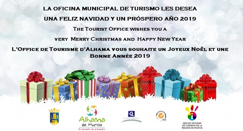 Tourist Office special opening times in Christmas