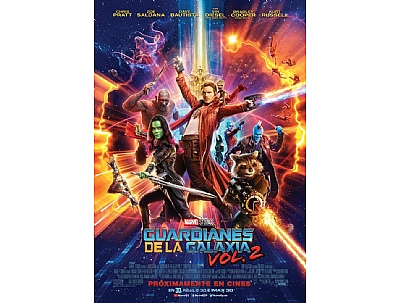 CINE: LOS GUARDIANES DE LA GALAXIA VOL.2