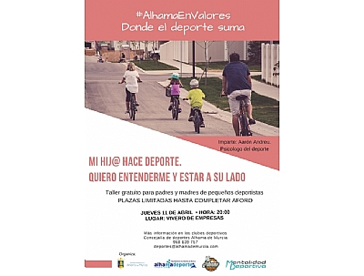ALHAMA EN VALORES: Taller para padres y madres