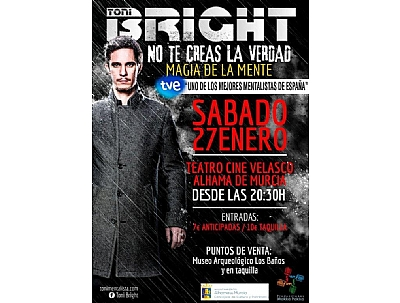 ESPECTÁCULO: TONI BRIGHT