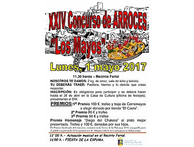 XXXV CONCURSO DE ARROCES LOS MAYOS 2017