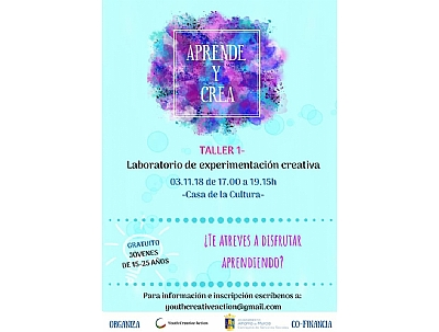 Taller Youth Creative Action: laboratorio de experimentación creativa