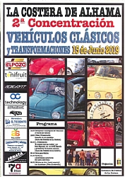FIESTAS DE LA COSTERA: 2nd MEETING OF CLASSIC VEHICLES IN LA COSTERA