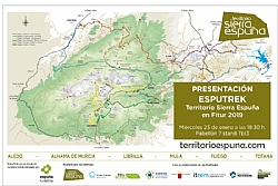 Esputrek, the new bet of Territorio Sierra Espuña, introduced in FITUR 2019