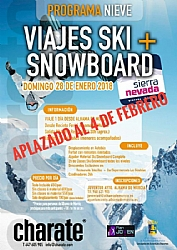 Trip to Sierra Nevada: Sky and Snowboard