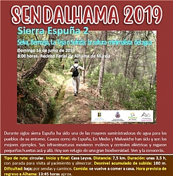 SENDALHAMA 2019: Hiking route