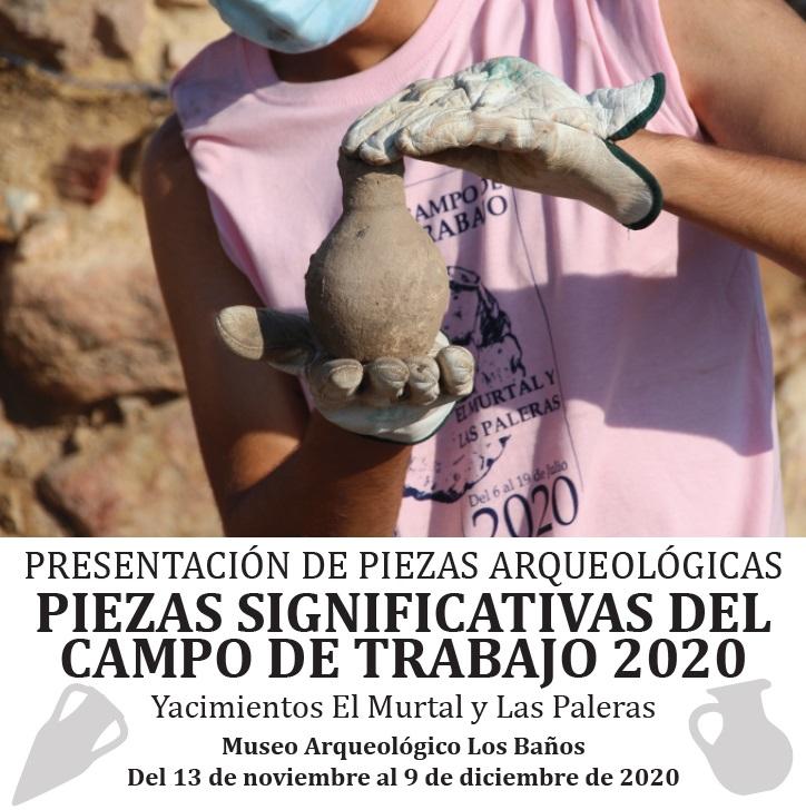 PRESENTACIÓN DE PIEZAS ARQUEOLÓGICAS - 1