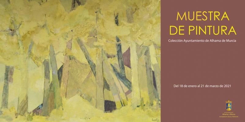 Muestra de pintura: Fondos Municipales de Autores Alhameños - 1