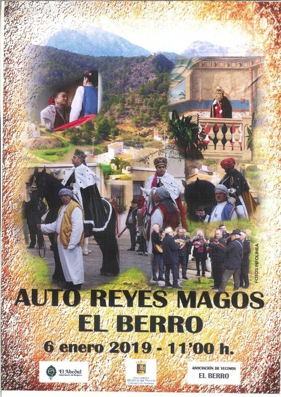 NAVIDAD 2018-  PEDANIAS - EL BERRO-Auto de los Reyes Magos - 1