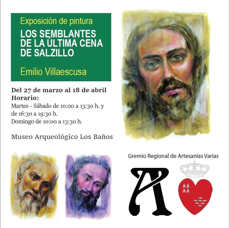EXPOSICIÓN DE PINTURA: LOS SEMBLANTES DE LA ÚLTIMA CENA DE SALZILLO - 1
