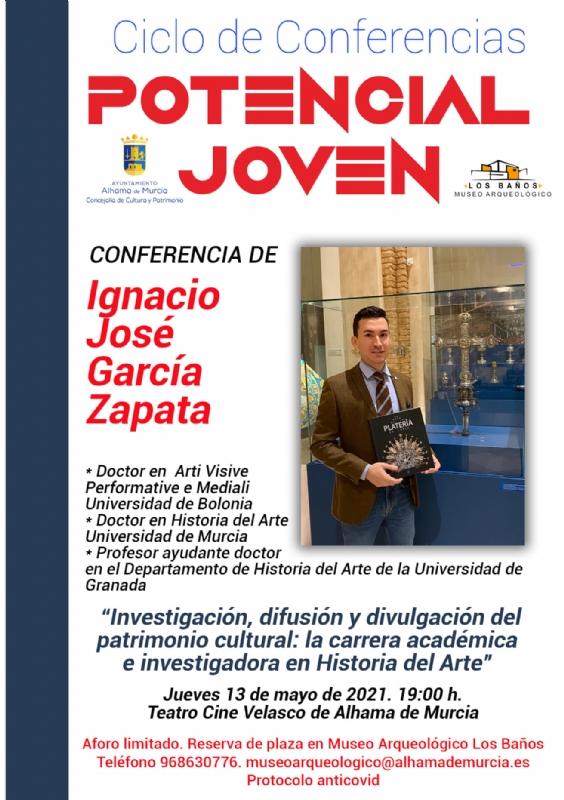 CICLO DE CONFERENCIAS POTENCIAL JOVEN: IGNACIO J.GARCIA - 1