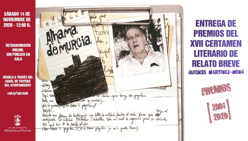 Entrega de premios del XVII Certamen Literario de Relato Breve