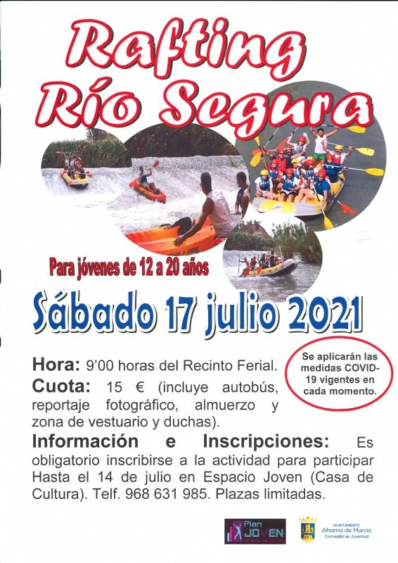 VERANO JOVEN 2021: RAFTING RÍO SEGURA - 1