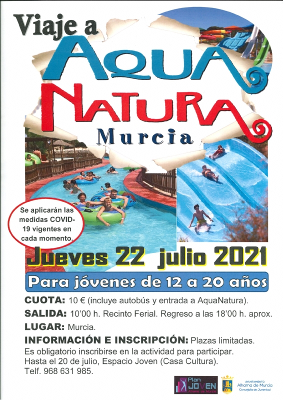 VERANO JOVEN 2021: AQUA NATURA - 1