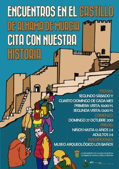 Guided visits to the Castle of Alhama will start on 27th October