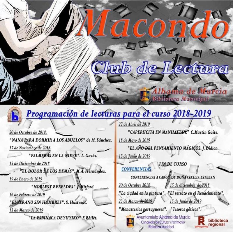 Reunión del Club de Lectura Macondo - 1