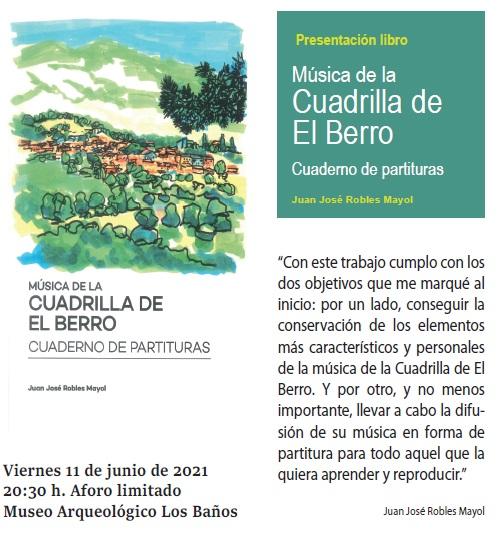 PRESENTACIÓN LIBRO: MÚSICA DE LA CUADRILLA DE EL BERRO - 1