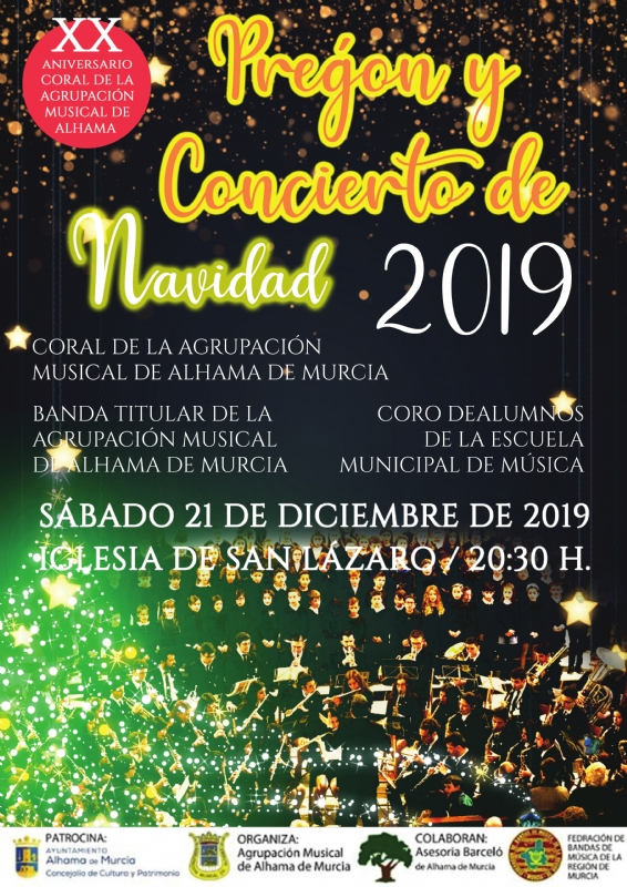 NAVIDAD 2019: Concierto de la Banda y Coro de alumnos de la Escuela de Música y Coral de la Agrupación Musical - 1