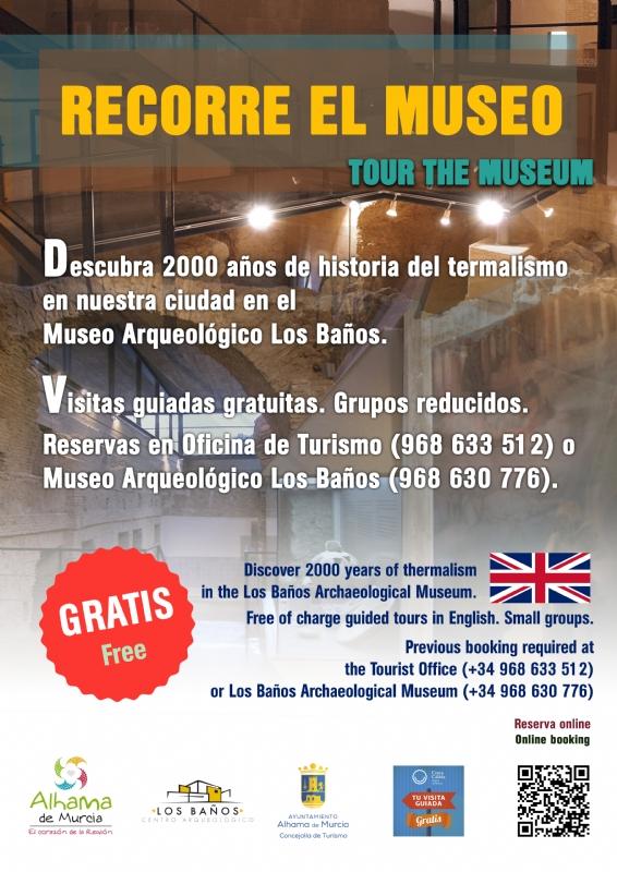 """VISITA GUIADA: """"RECORRE EL MUSEO"""" - 1"""