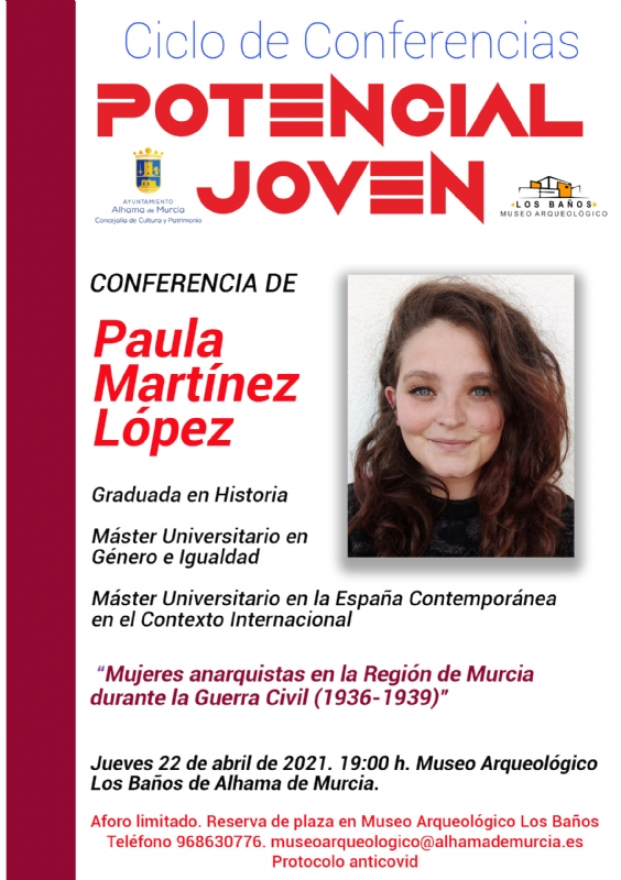 CICLO DE CONFERENCIAS POTENCIAL JOVEN: PAULA MARTÍNEZ - 1
