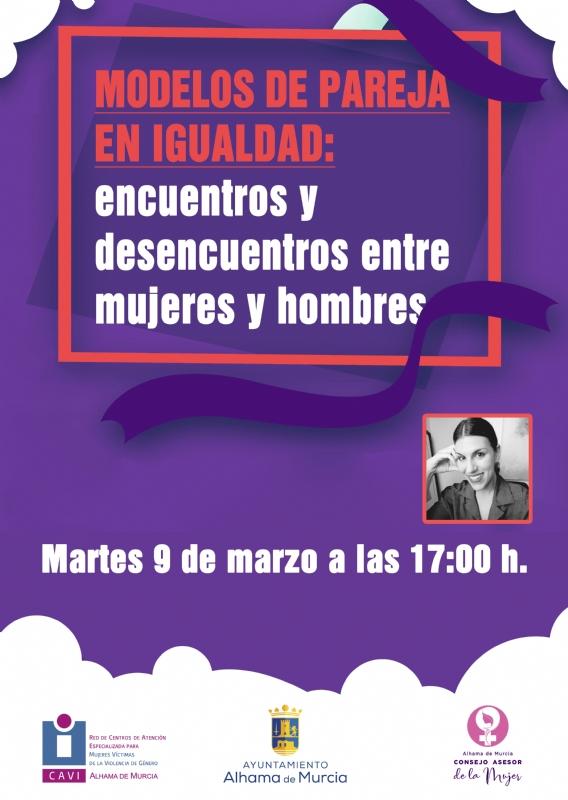 8 DE MARZO, DÍA INTERNACIONAL DE LA MUJER: CHARLA ONLINE - 1