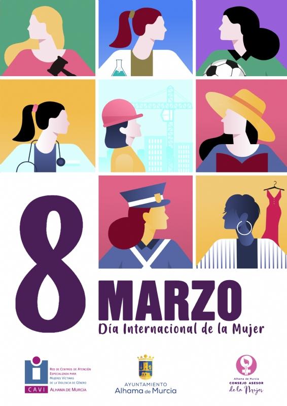 8 DE MARZO, DÍA INTERNACIONAL DE LA MUJER: Entrega Online de premios del Concurso de Literatura - 1