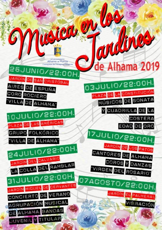 Música en Los Jardines de Alhama 2019 - 1