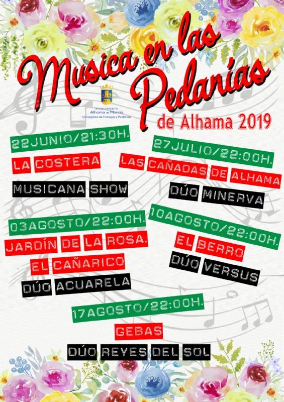 Música en las Pedanías de Alhama 2019 - 1