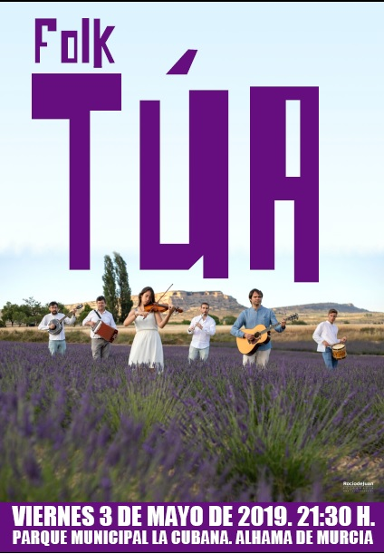 MAYOS 2019: Alhama in Folk Concert: TÚA