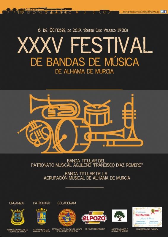 FERIA 2019: Concentración y pasacalles de las bandas participantes en el Festival de Bandas de Música. - 1