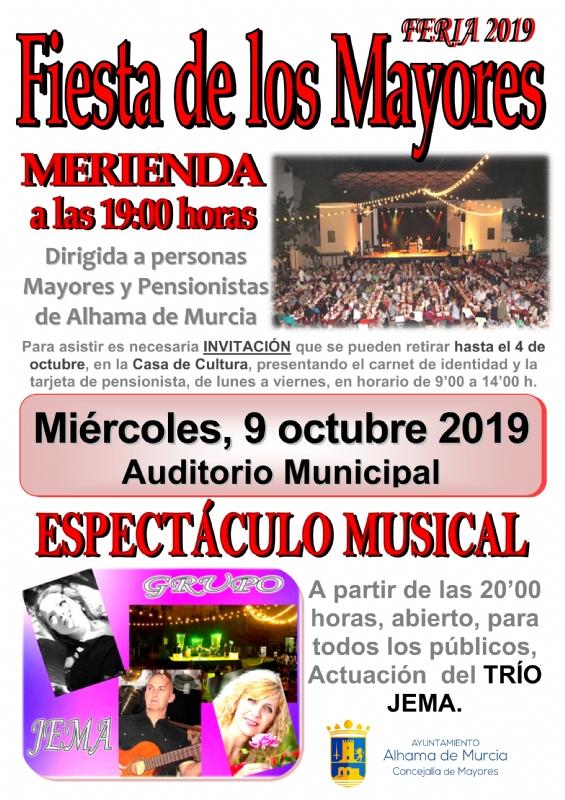 FERIA 2019: FIESTA Y MERIENDA DE MAYORES - 1