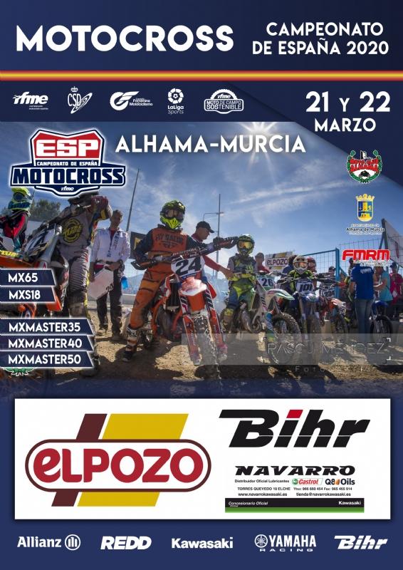 ATENCIÓN, CANCELADO -->CAMPEONATO DE ESPAÑA DE MOTOCROSS - 1