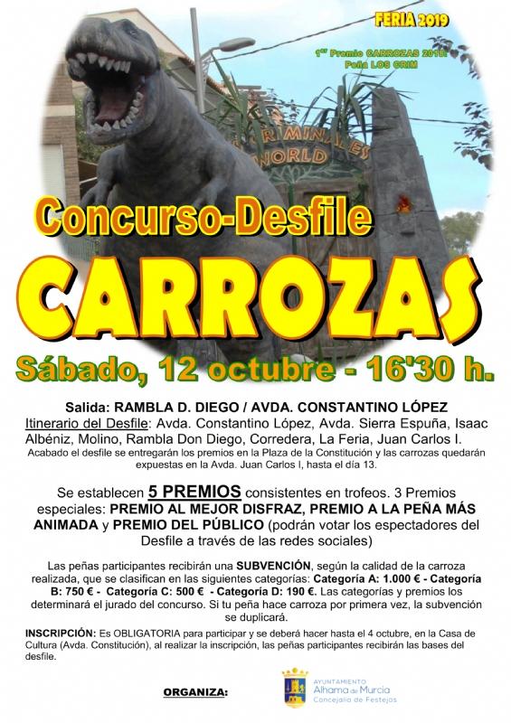 FERIA 2019: DESFILE DE CARROZAS - 1