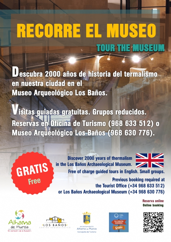 """ATENCIÓN, CANCELADA -->VISITA GUIADA: """"TOUR THE MUSEUM"""" en inglés - 1"""