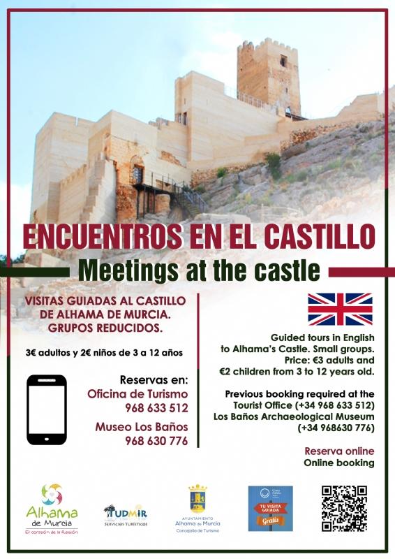 ATENCIÓN, CANCELADO --> VISITA GUIADA: ENCUENTROS EN EL CASTILLO – Español - 1
