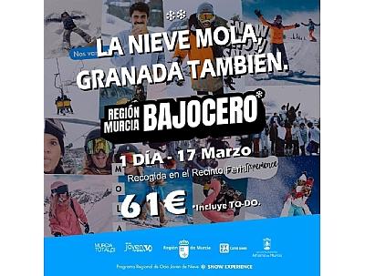 Viaje a Sierra Nevada Región de Murcia Bajo Cero