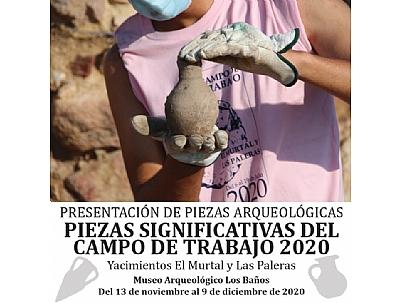 PRESENTACIÓN DE PIEZAS ARQUEOLÓGICAS
