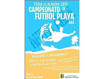 FERIA 2019: I Torneo de Fútbol Playa