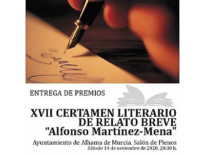 XVII CERTAMEN LITERARIO DE RELATO BREVE