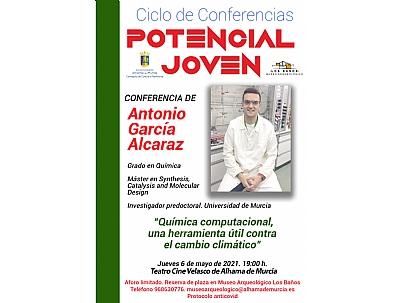 CICLO DE CONFERENCIAS POTENCIAL JOVEN: ANTONIO GARCIA ALCARAZ