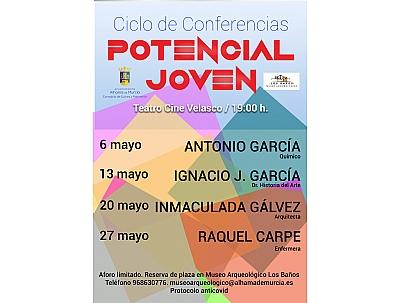 CICLO DE CONFERENCIAS POTENCIAL JOVEN: RAQUEL CARPE