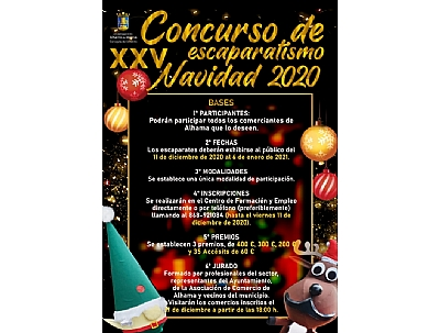 NAVIDAD 2020: XXV Concurso de escaparates de navidad