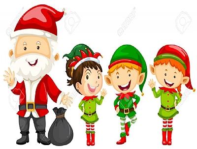 NAVIDAD 2020: Papá Noel y sus Elfos
