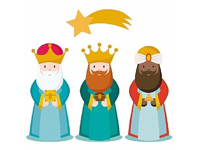 NAVIDAD 2020: Recepción de los Reyes Magos a los niños y niñas