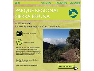MOCHILA DE ACTIVIDADES: RUTA GUIADA