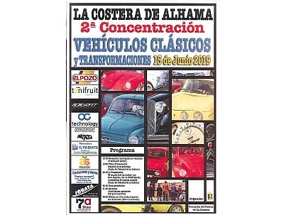 FIESTAS DE LA COSTERA: 2ª Concentración de Vehículos Clásicos y Transformados de La Costera