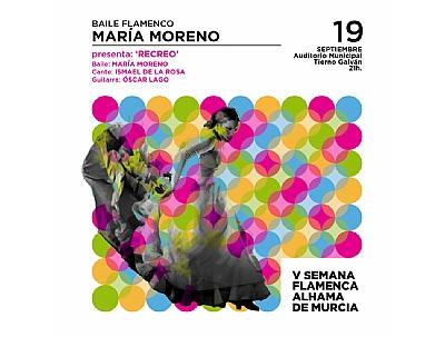 V SEMANA FLAMENCA: Baile flamenco