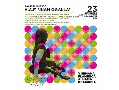 V SEMANA FLAMENCA: Baile flamenco A.A.F.